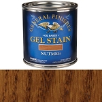 GENERAL FINISHES GEL STAIN NUTMEG 1 PINT (NUTMEG GEL)